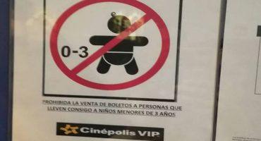 Un tuitero explica porqué la prohibición de bebés en el cine no es mala y tiene toda la razón