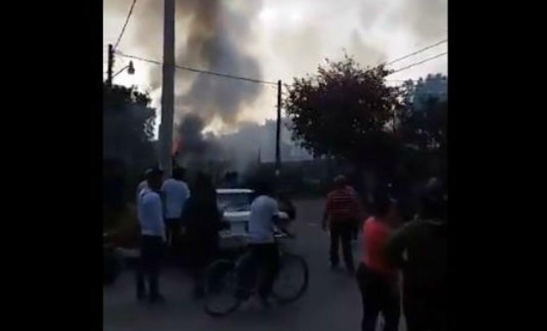 Reportan explosión de taller pirotécnico en Tultepec