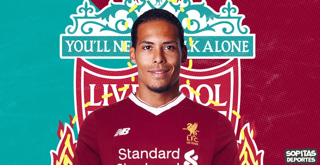 Liverpool ahora tiene al defensa central más caro de la historia
