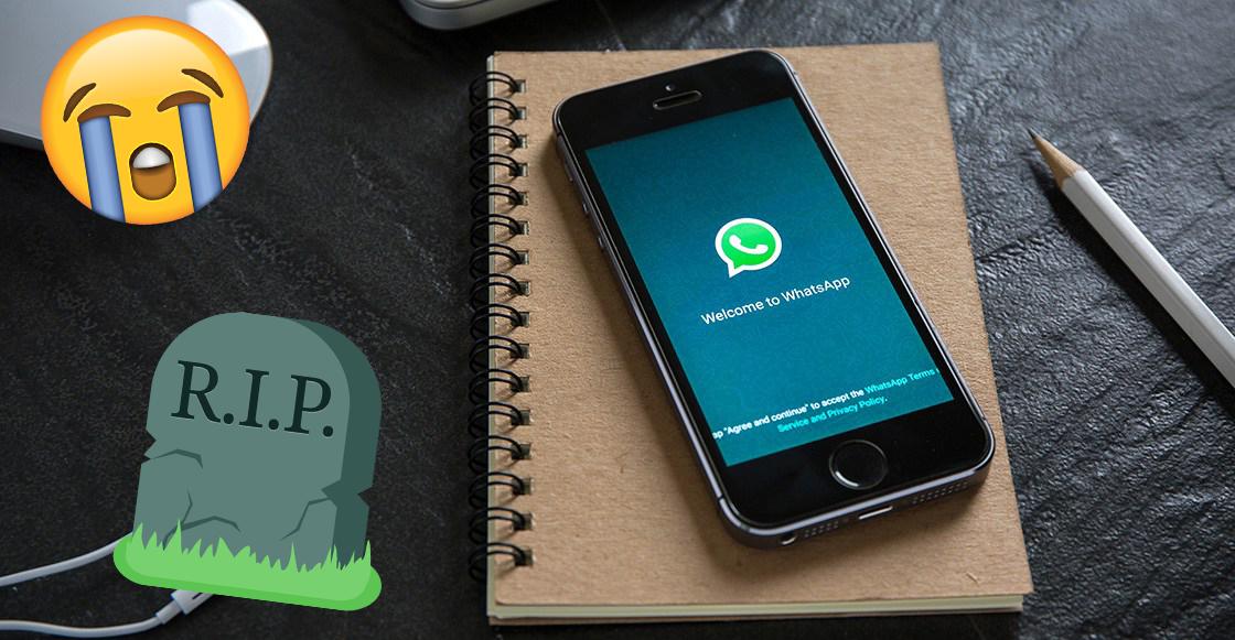 Whatsapp dejará de funcionar en estos celulares a partir del 2018