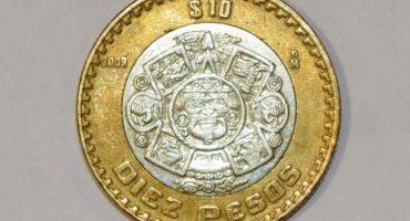 A romper el cochinito: Monedas de 10 pesos se venden hasta por 1400