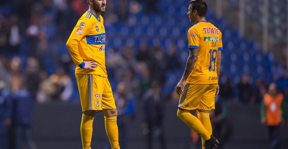 Gignac Tigres Clausura 2018 Liga MX Puebla
