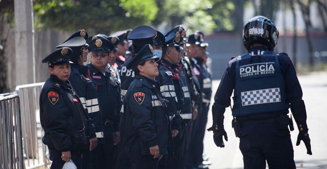 impunidad policía CDMX