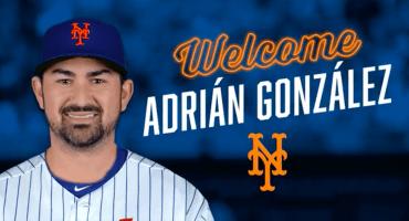 ¡Adrián González ya tiene equipo! El Titán jugará con los Mets