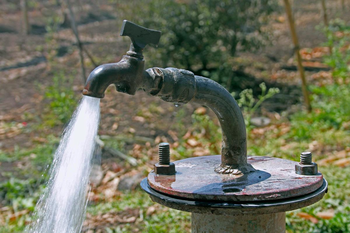 Agua de la llave, agua cruda