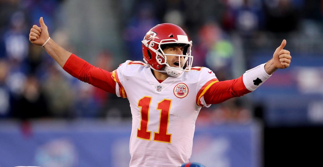 Los Redskins adquirieron a Alex Smith de los Chiefs