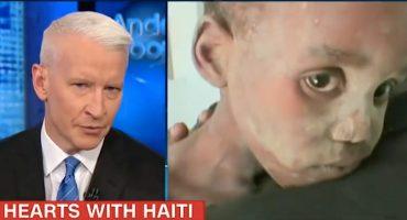 Que la Casa Blanca aprenda de Haití, dice el periodista Anderson Cooper en un video