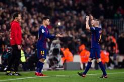 Despedida de Mascherano, debut de Coutinho y el Barça avanzó en Copa del Rey