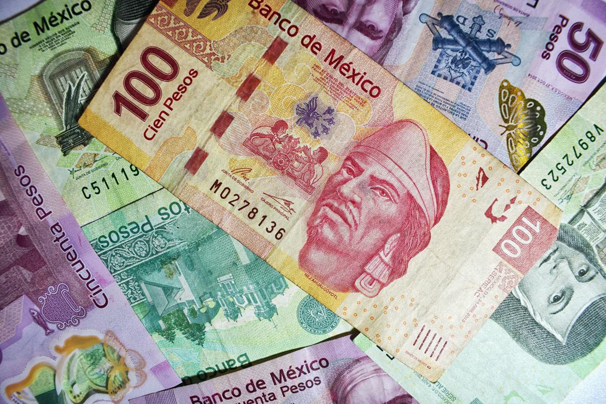 Billetes Dinero Pesos Mexicanos