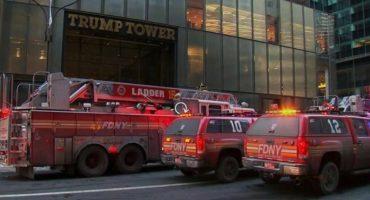 Fuego y Furia: Se incendia la Torre Trump de Nueva York