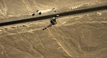 Conductor de camión daña Líneas de Nasca en Perú 🤦🏻♂️