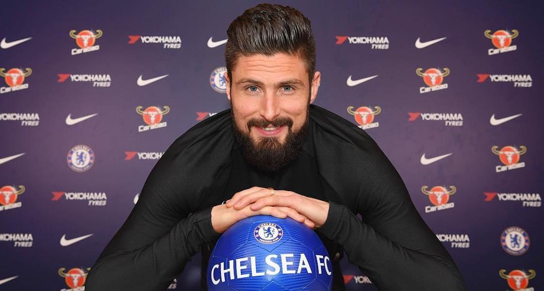 Olivier Giroud huye de Aubameyang y el Arsenal para buscar minutos en Chelsea