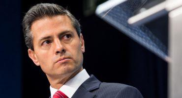 ¡Que dice Peña Nieto que ya se bajen del tren porque eso le irrita!