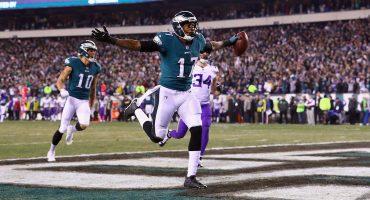 Los Eagles volaron alto y apalearon a los Vikings para meterse al Super Bowl LII