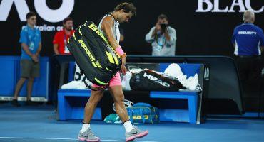 Rafael Nadal quedó fuera del Australian Open por lesión