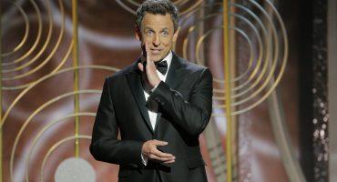 Seth Meyers repartió a diestra y siniestra en su discurso de los Globos de Oro
