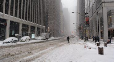 Declaran en estado de emergencia a Nueva York por fuertes nevadas