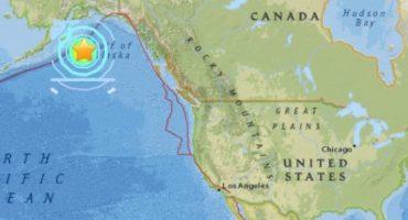 Se registra terremoto de 8.2 en Alaska, se enciende alerta de tsunami