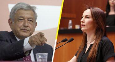 La senadora Gabriela Cuevas deja el PAN para apoyar a AMLO