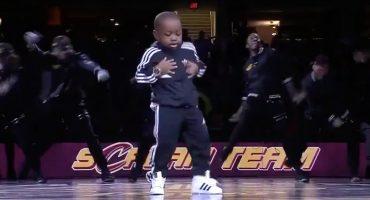Tavaris Jones, el niño de cinco años que se adueñó del medio tiempo de la NBA