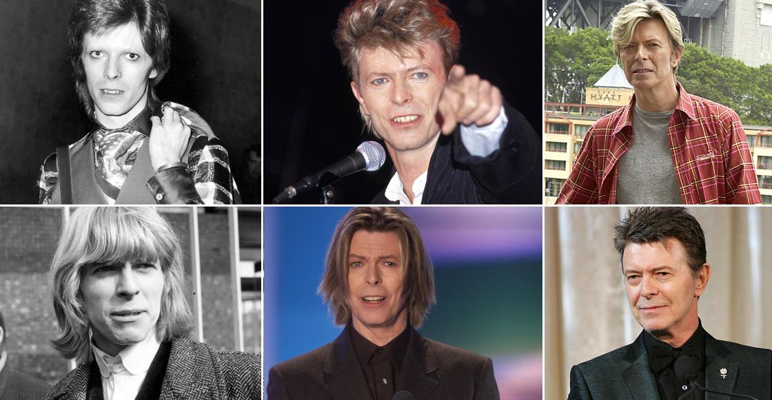 Esta página te dice qué hacía David Bowie a tu edad