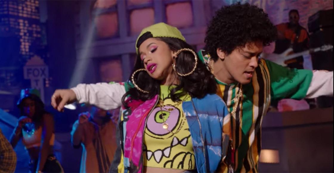 """Bruno Mars y Cardi B hacen remix de """"Finesse"""" y prácitcamente el internet enloqueció"""