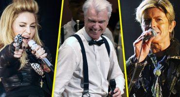 Los covers de David Byrne a Bowie y Madonna son lo mejor que podrás escuchar hoy