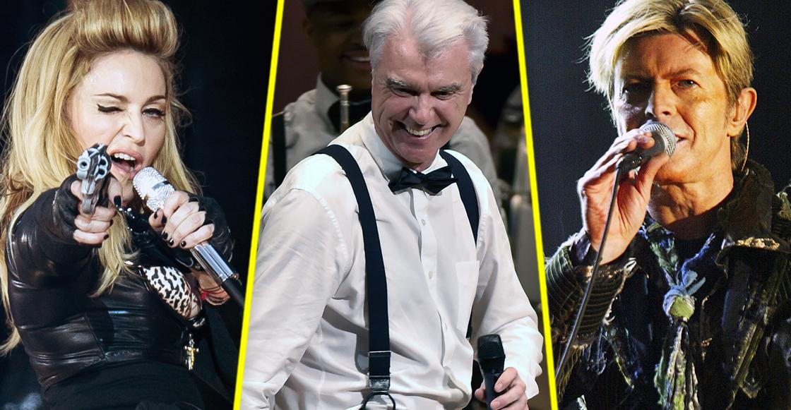 Los covers de David Byrne a Bowie y Madonna son lo mejor que podrás escuchar
