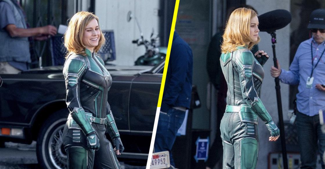 ¡Se filtraron imágenes de Brie Larson como Captain Marvel! 😱