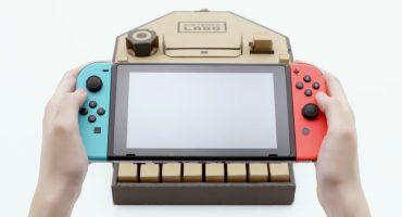 Llegó el Nintendo Labo y es... ¿de cartón?