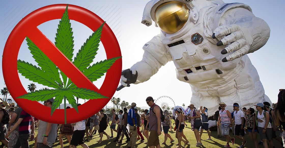 Coachella prohíbe el uso de la marihuana en su edición 2018