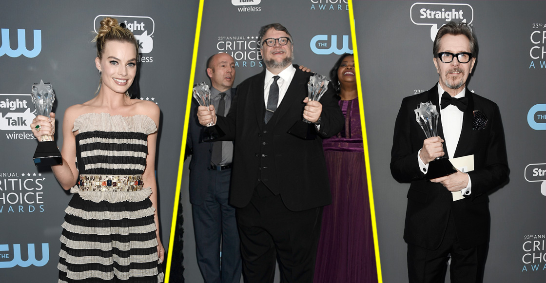 Critics Choice Awards 2018: 'The Shape of Water' se lleva las palmas