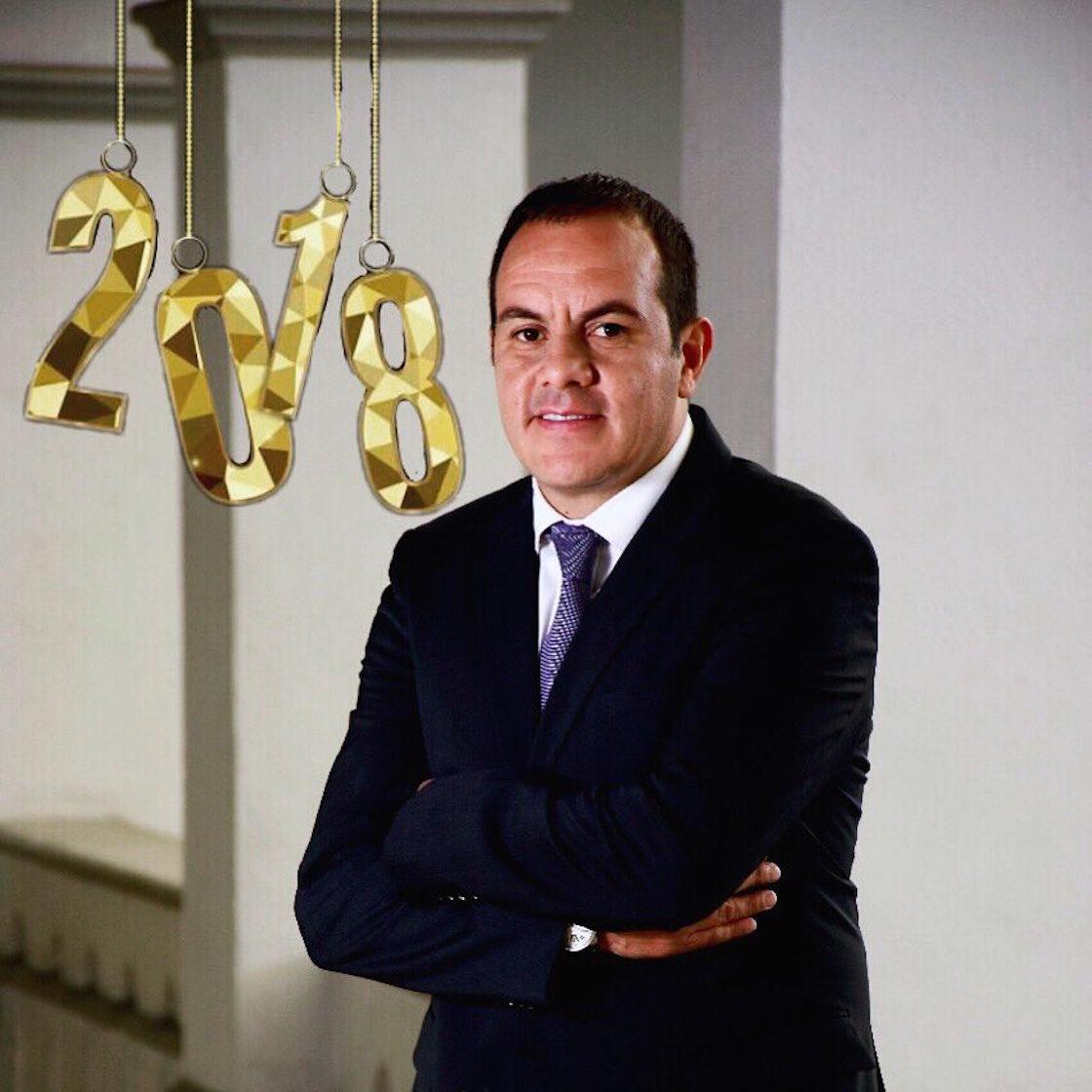Cuauhtémoc Blanco Bravo, alcalde de Cuernavaca, Morelos