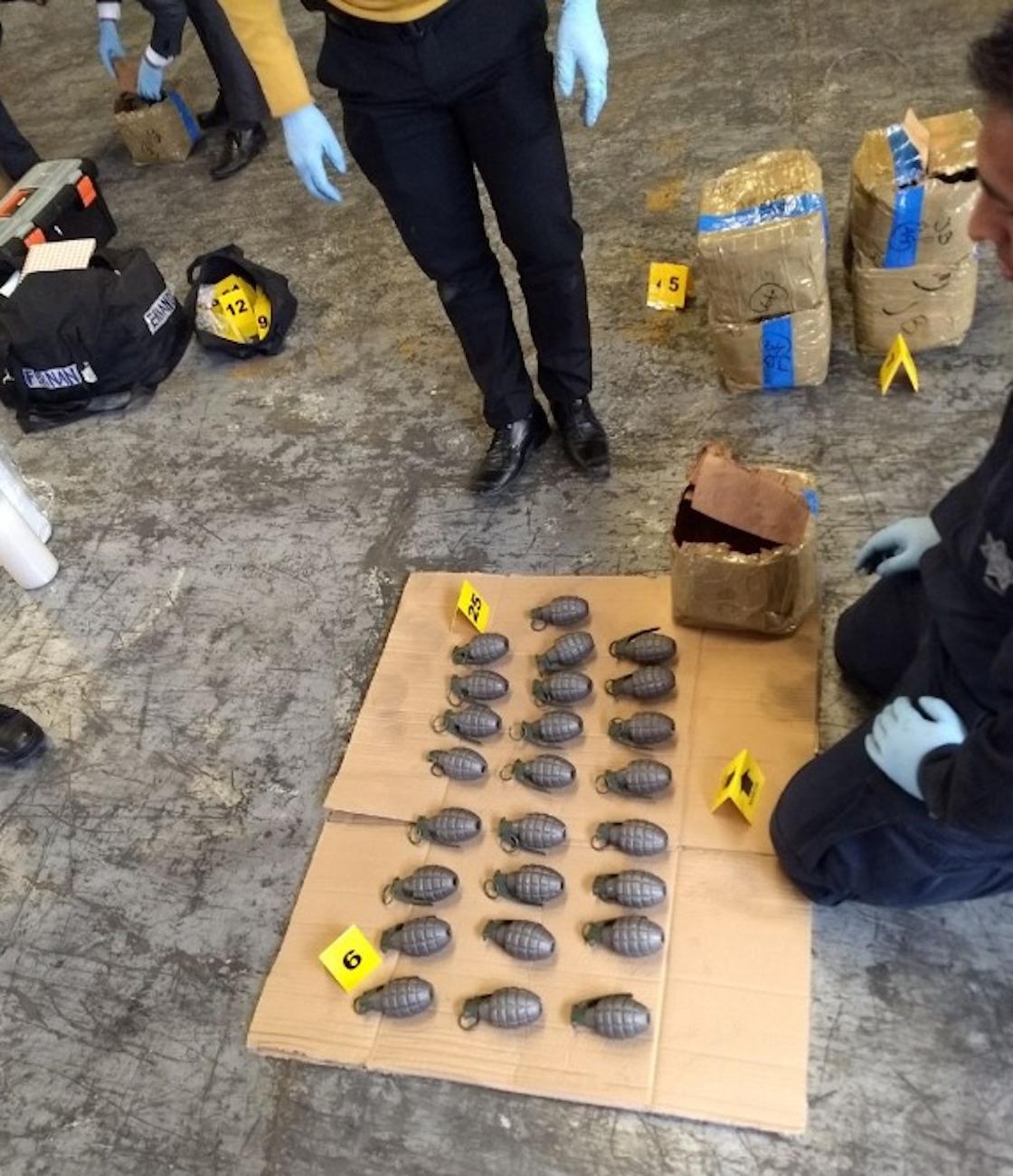 ¿Para quiénes eran? Decomisan casi mil granadas en la CDMX