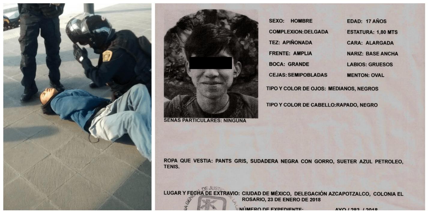 """""""¡Aparición inmediata y con vida!"""" Llaman a concentración en el Ángel para exigir la aparición de Marco Antonio Sánchez"""