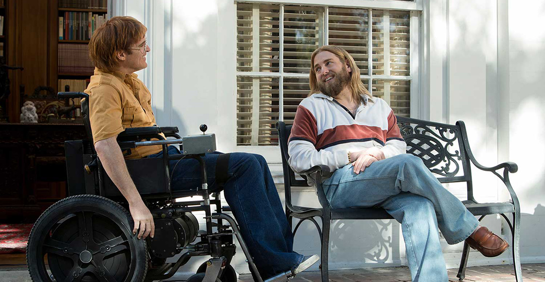 ¡Grande, Joaquin Phoenix! Mira el tráiler de 'Don't Worry, He Won't Get Far On Foot'