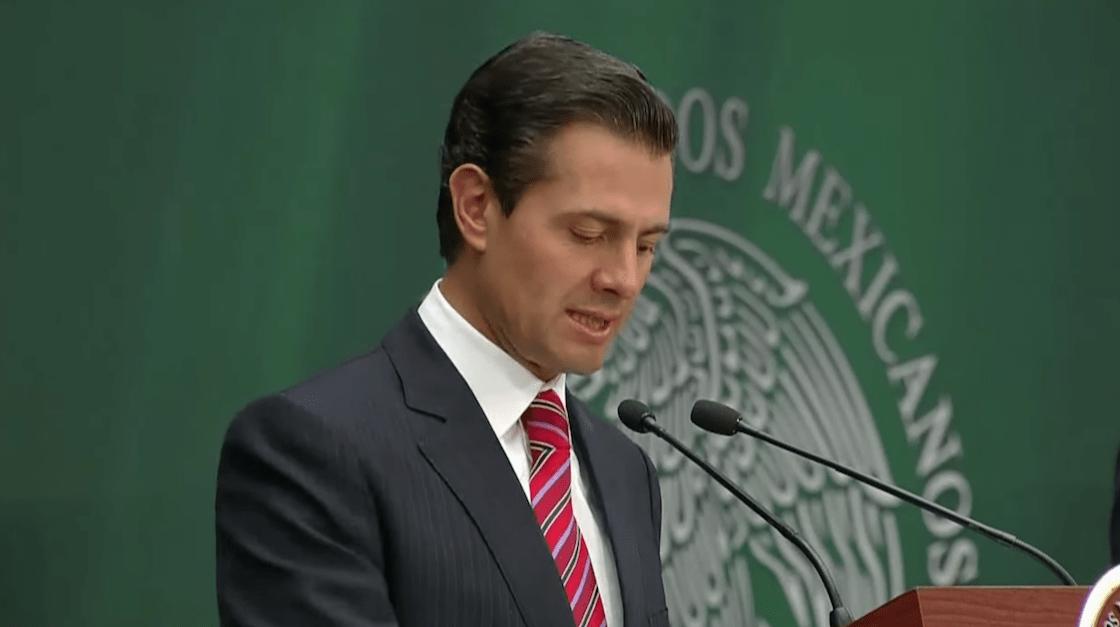 El presidente Enrique Peña Nieto anunció más cambios en el gabinete: Osorio Chong y Miranda están afuera y buscarán un lugar en el Congreso
