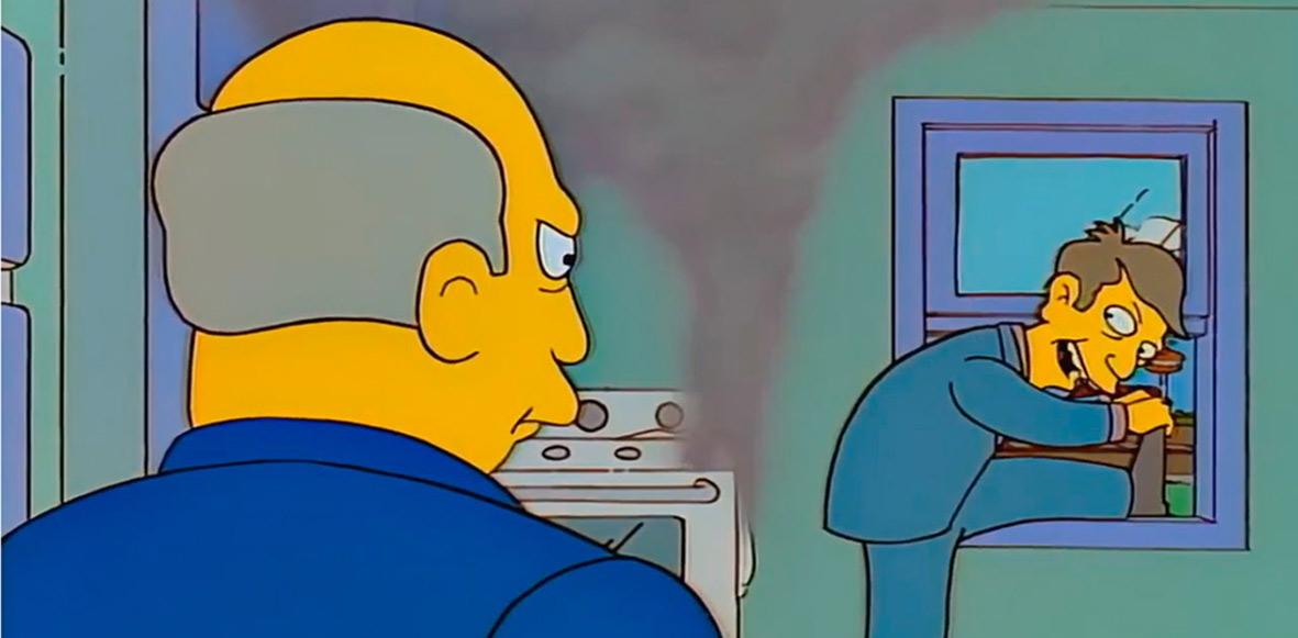 Esta escena legendaria de Los Simpson fue convertida en un videojuego