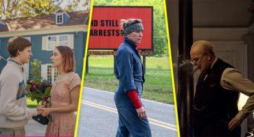 De fechas y estrenos: te decimos cuándo se estrenan las películas nominadas a los Oscar 2018