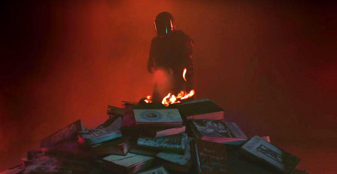 ¡Gracias, HBO! La serie de 'Fahrenheit 451' ya tiene un teaser que arde