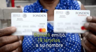 Corrupción en entrega de tarjetas para damnificados del sismo: Bansefi clonó beneficiarios