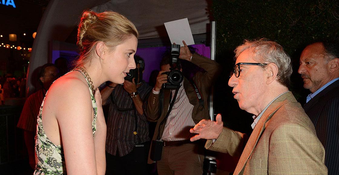 Y al final… Greta Gerwig se arrepiente y no volverá a trabajar con Woody Allen