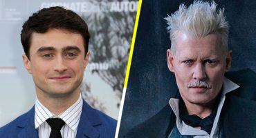 Daniel Radcliffe no parece contento con la aparición de Johnny Depp en Fantastic Beasts
