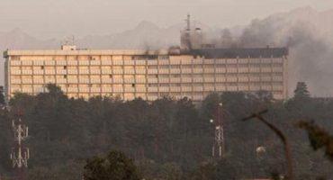 Hombres asaltan hotel intercontinental de Kabul; hay al menos 15 muertos