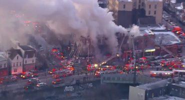 Se registra nuevo incendio en Nueva York, al menos 12 personas heridas