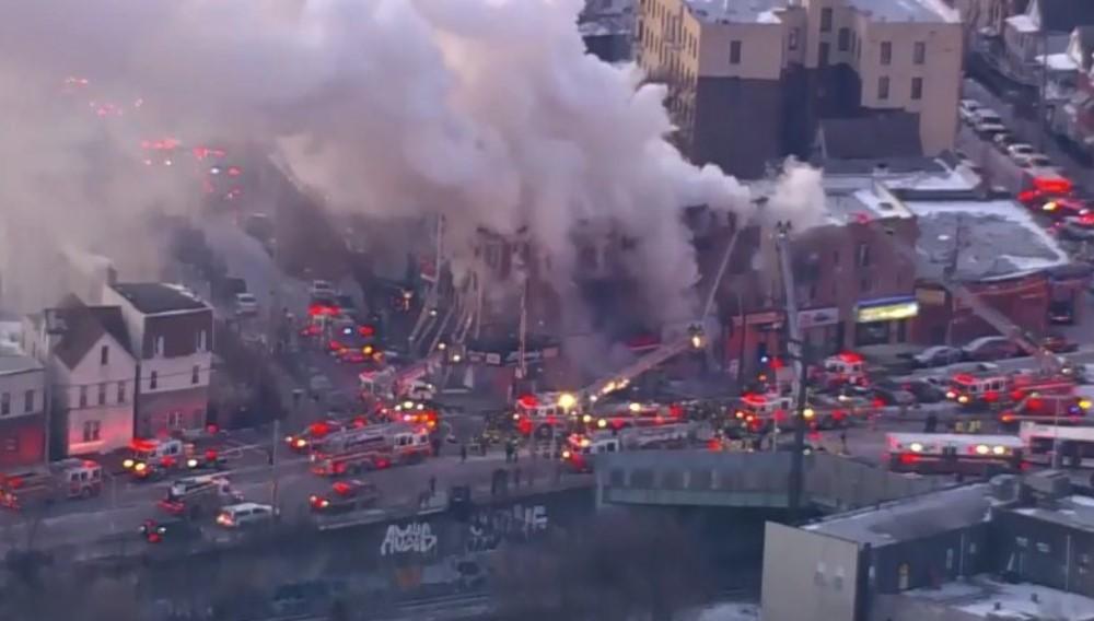 Incendio en el Bronx