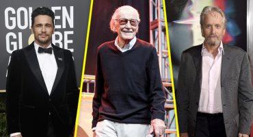 James Franco, Stan Lee y Michael Douglas hablan de sus acusaciones de acoso sexual