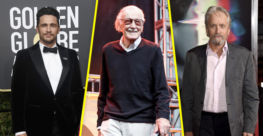 James Franco, Stan Lee y Michael Douglas niegan todas las acusaciones de acoso sexual