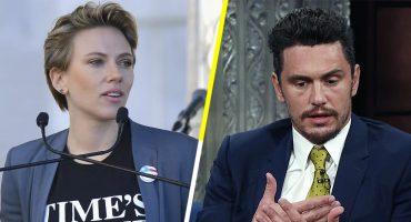 Scarlett Johansson habla en contra de James Franco y otros hombres de la industria