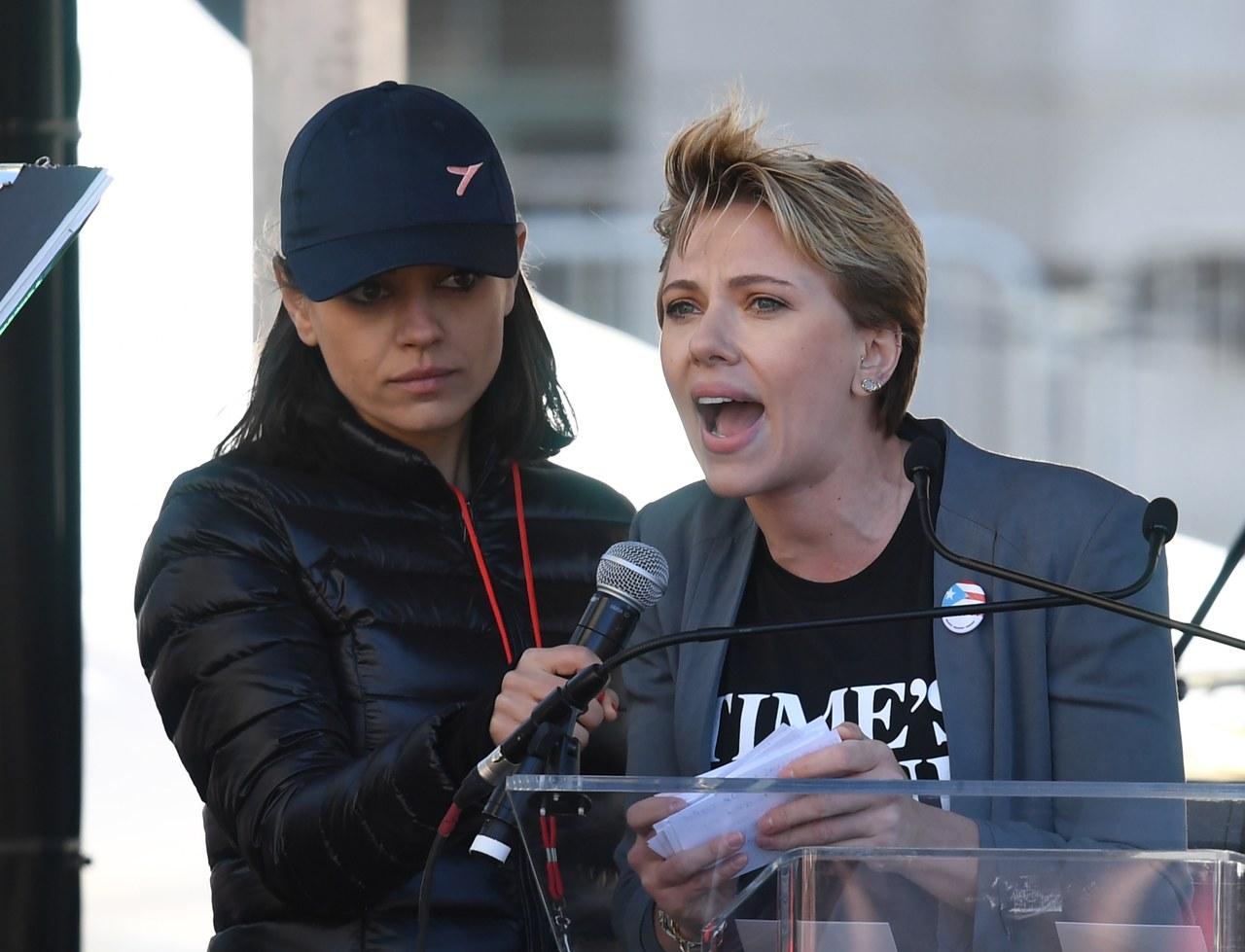 #Espectáculos Scarlett Johansson envió mensaje contra James Franco